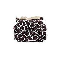 OiOi Sophisticated Baby Bags Giraffe Print Messenger
